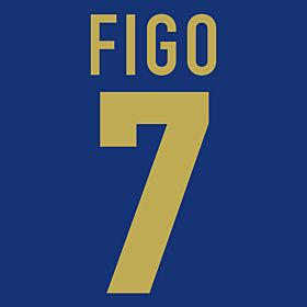 Figo 7 - 98-99 Centenary Flex Name and Number Transfer