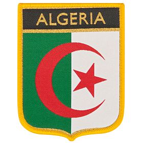 Algeria 1 Embroidery Patch 9cm x 7cm