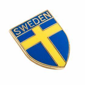 Sweden Enamel Pin Badge
