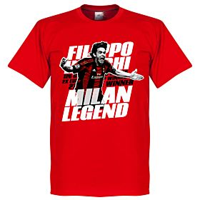 Inzaghi Legend Tee - Red