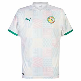 20-21 Senegal Home White