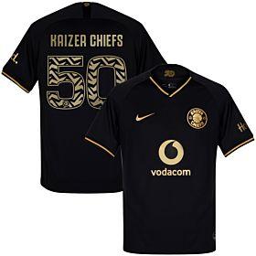 19-20 Kaizer Chiefs 3rd Shirt + 50th Anniversary Print