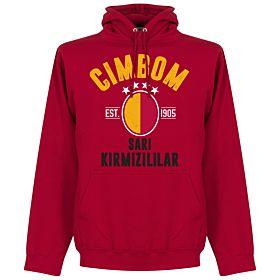Galatasaray Established Hoodie - Red
