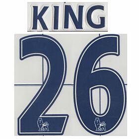 King 26 - 08-09 Tottenham Home Official Sencilia Name & Number
