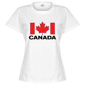 Canada Team Womens Tee - White