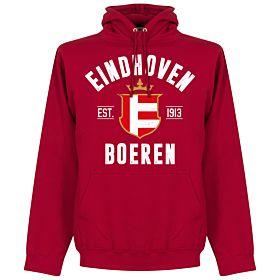 Eindhoven Established Hoodie - Red