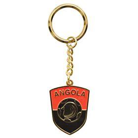 Angola Enamel Keyring