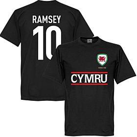 Cymru Ramsey Team Tee - Black