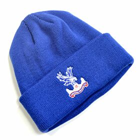 Crystal Palace Cuff Knitted Hat - Royal