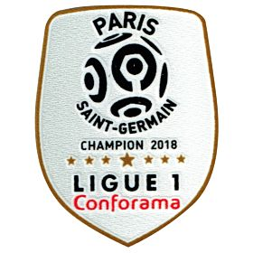 18-19 PSG Ligue 1 Winners Sleeve Patch
