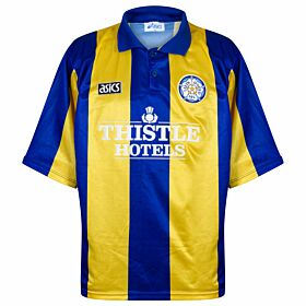 Asics Leeds United 1993-1994 Away Shirt USED Condition (Great) - Size XXL