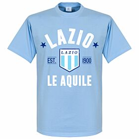 Lazio Established Tee - Sky