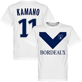 Bordeaux Kamano 11 Team Tee - White