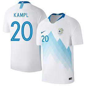 Slovenia Home Kampl 20 Jersey 2018 / 2019 (Fan Style Printing)