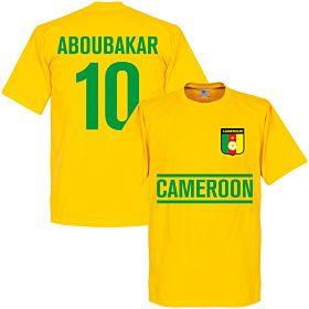 Cameroon Aboubakar Team Tee - Yellow