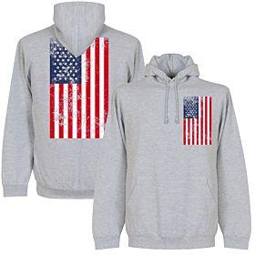 USA Graphic Hoodie - Grey
