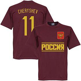 Russia Team Cheryshev Tee - Maroon