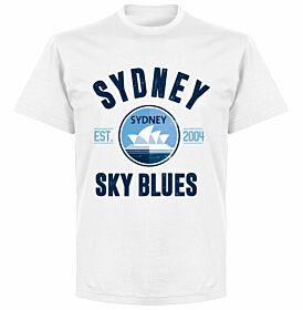 Sydney Established T-Shirt - White