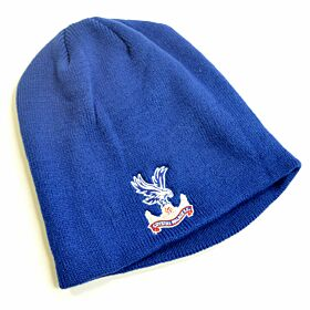 Crystal Palace Knitted Beanie Hat - Royal