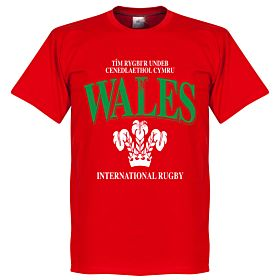 Wales Rugby Tee - Red