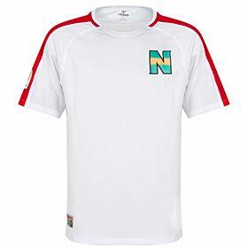 Nankatsu Shirt 2 - White/Red
