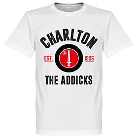 Charlton Athletic Established Tee - White