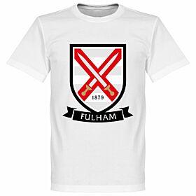 Fulham Crest Tee - White