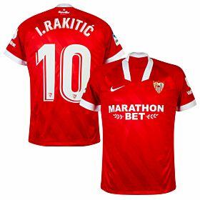 20-21 Sevilla Away Shirt + I.Rakitic 10 (Official Print)