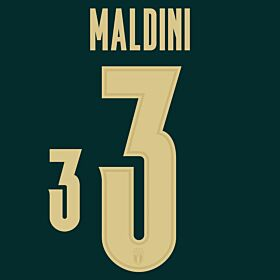 Maldini 3 (Official Printing) - 19-20 Italy 3rd Renaissance