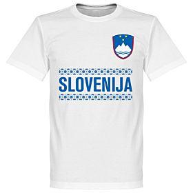 Slovenia Team Tee - White