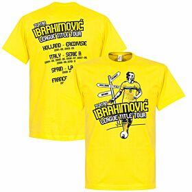 Zlatan Ibrahimovic Tour Tee - Yellow