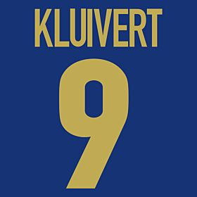 Kluivert 9 - 98-99 Centenary Flex Name and Number Transfer