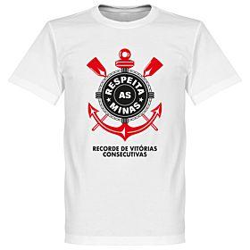 Corinthians Minas Tee - White