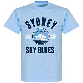 Sydney Established T-Shirt - Sky