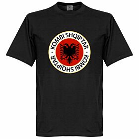 Albania Crest Tee - Black