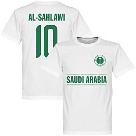 Saudi Arabia Al-Sahlawi 10 Tee - White