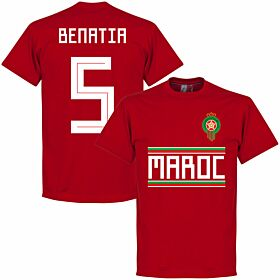 Morocco Benatia 5 Team Tee - Red