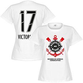 Corinthians Victoria A. 17 Minas Womens Tee - White