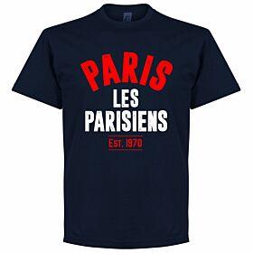 Paris Established Tee - Navy