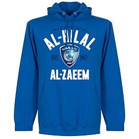 Al-Hilal Established Hoodie - Royal