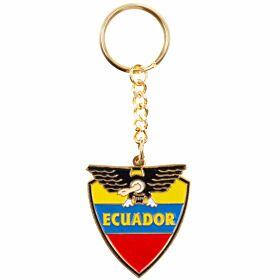 Ecuador Enamel Keyring