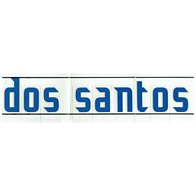 Dos Santos (Name Only) - 06-07 Paraguay Home Official Name Transfer