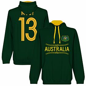 Australia Mooy 13 Team Hoodie - Forest/Gold