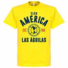 Club America Established Tee - Yellow