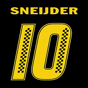 Sneijder 10 (Racing Style)