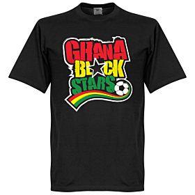 Ghana Black Stars Tee - Black