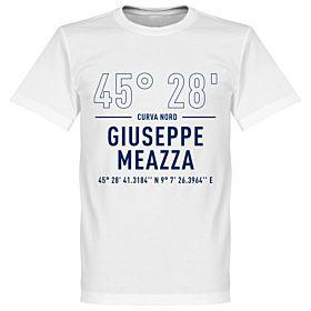 Inter Giuseppe Meazza Coordinates Tee - White