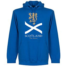 Scotland the Brave Hoodie - Royal