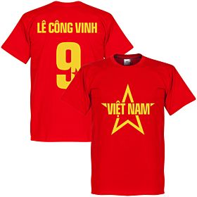 Vietnam Le Cong Vinh Star Tee - Red