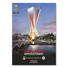 Europa League Final Program Amsterdam 2013